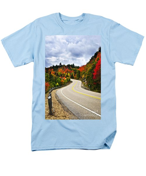 Fall highway T-Shirt by Elena Elisseeva