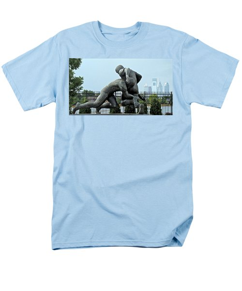 Football at Citizens Bank Park T-Shirt by Alice Gipson