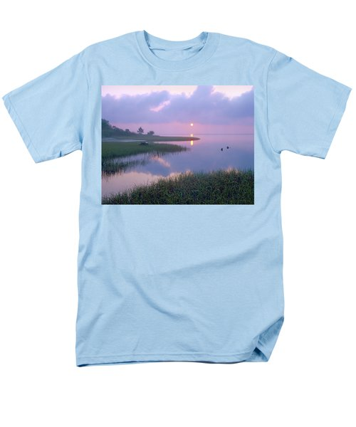Marsh At Sunrise Over Eagle Bay St T-Shirt by Tim Fitzharris