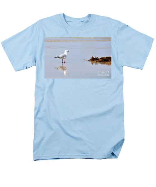 Mirrored Seagull T-Shirt by Kaye Menner