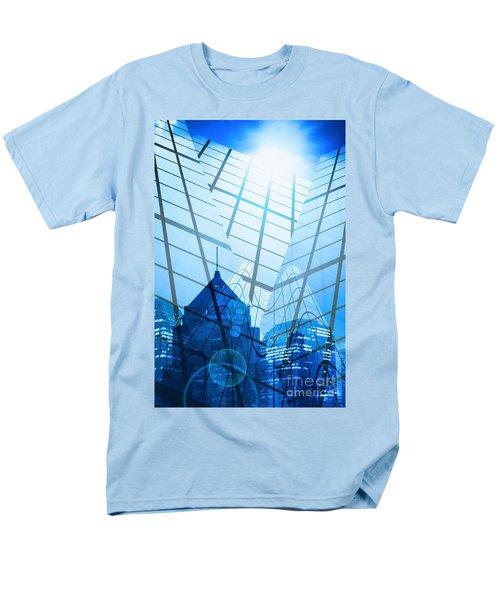 Modern City T-Shirt by Setsiri Silapasuwanchai