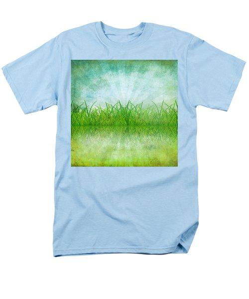 nature and grass on paper T-Shirt by Setsiri Silapasuwanchai