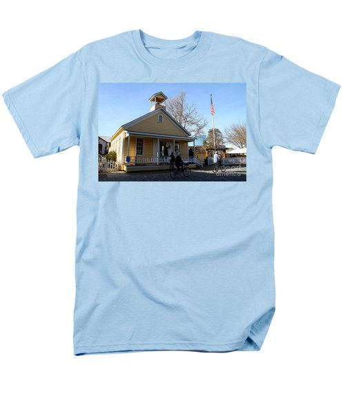 Old Sacramento California . Schoolhouse Museum . 7D11578 T-Shirt by Wingsdomain Art and Photography