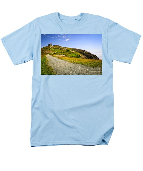 Path to Cabot Tower on Signal Hill T-Shirt by Elena Elisseeva