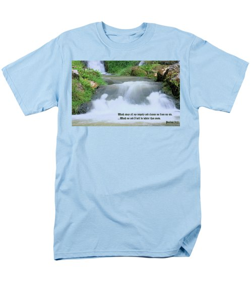 Psalm 51 2 T-Shirt by Kristin Elmquist