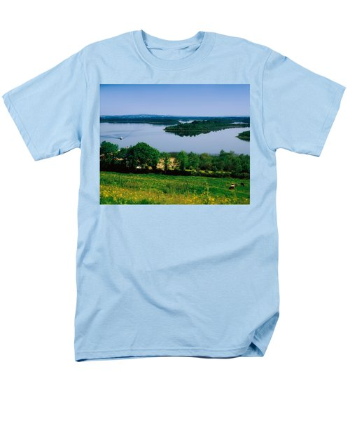 River Cruising, Upper Lough Erne T-Shirt by The Irish Image Collection