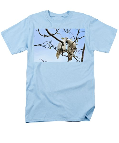 Sulphur Crested Cockatoos Men's T-Shirt  (Regular Fit) by Kaye Menner