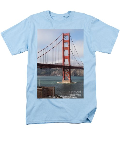 The San Francisco Golden Gate Bridge - 5D18911 T-Shirt by Wingsdomain Art and Photography