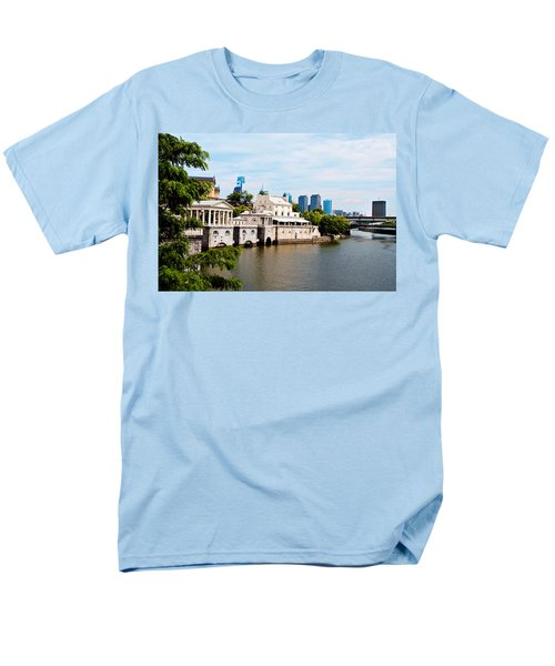 The WaterWorks in Spring T-Shirt by Bill Cannon