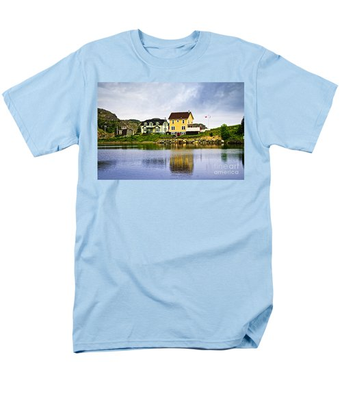 Village in Newfoundland T-Shirt by Elena Elisseeva