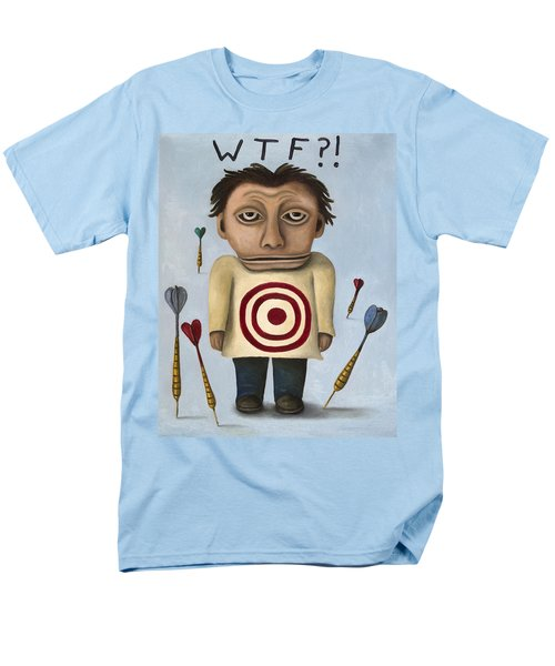 WTF 2 With Words T-Shirt by Leah Saulnier The Painting Maniac