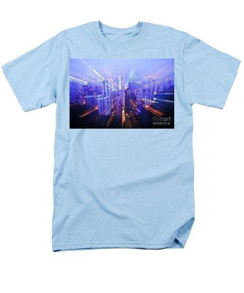 Hong Kong Lights T-Shirt by Ray Laskowitz - Printscapes