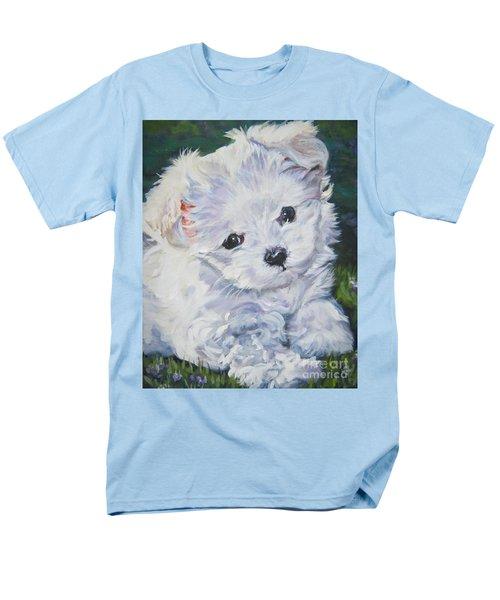 Maltese T-Shirt by Lee Ann Shepard
