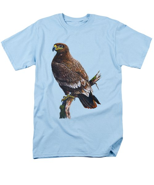 Steppe-eagle Men's T-Shirt  (Regular Fit) by Anthony Mwangi