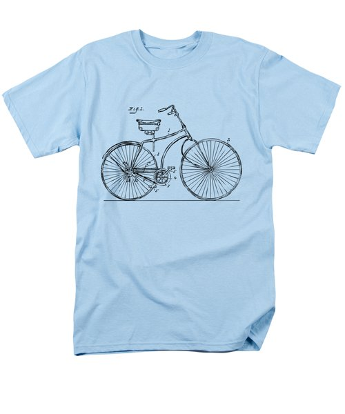 1890 Bicycle Patent Minimal - Vintage Men's T-Shirt  (Regular Fit) by Nikki Marie Smith