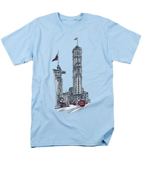 1908 Times Square,ny Men's T-Shirt  (Regular Fit) by Andrzej Szczerski