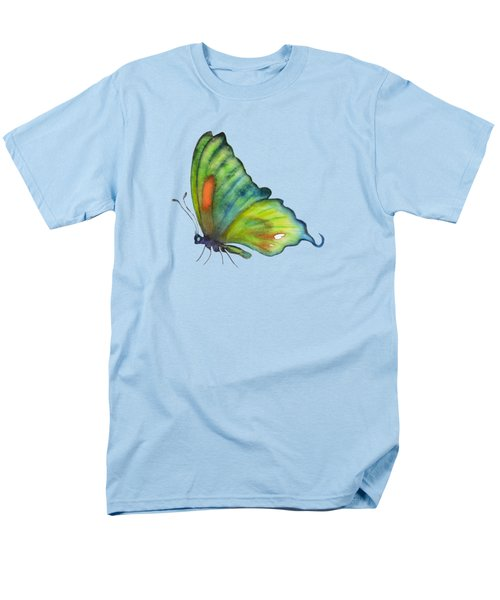 3 Perched Orange Spot Butterfly Men's T-Shirt  (Regular Fit) by Amy Kirkpatrick