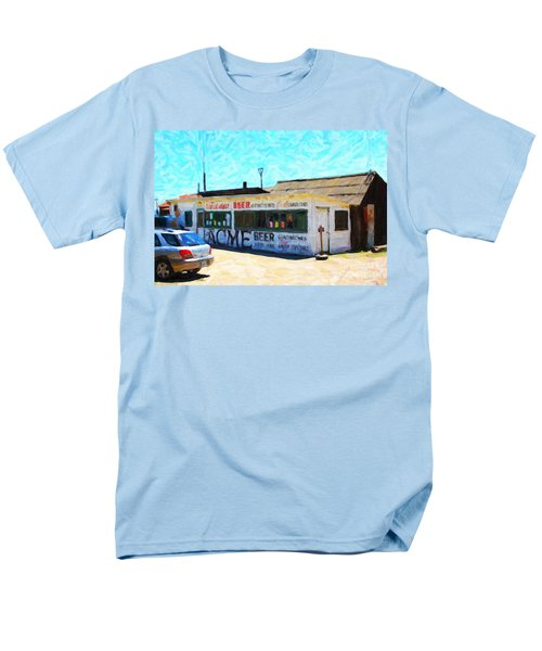 Acme Beer At The Old Lunch Shack At China Camp T-Shirt by Wingsdomain Art and Photography