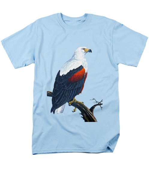 African Fish Eagle Men's T-Shirt  (Regular Fit) by Anthony Mwangi
