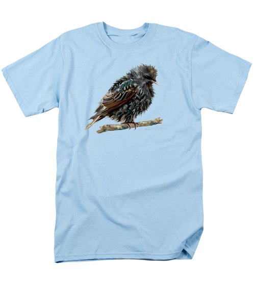 Wet Starling Men's T-Shirt  (Regular Fit) by Bamalam Photography