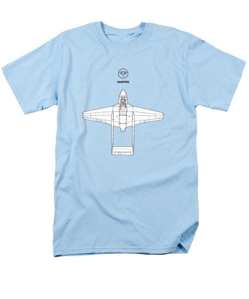 The De Havilland Vampire Men's T-Shirt  (Regular Fit) by Mark Rogan