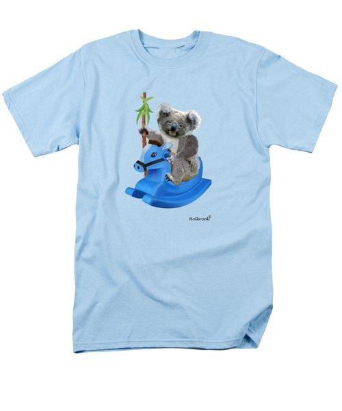 Baby Koala Buckaroo Men's T-Shirt  (Regular Fit) by Glenn Holbrook
