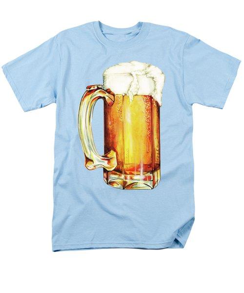 Beer Pattern Men's T-Shirt  (Regular Fit) by Kelly Gilleran