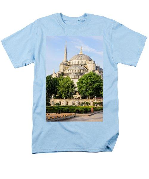 Blue Mosque T-Shirt by Artur Bogacki