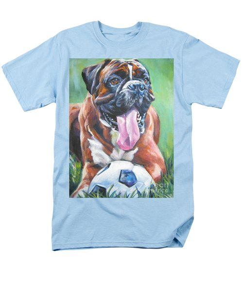 boxer soccer T-Shirt by Lee Ann Shepard