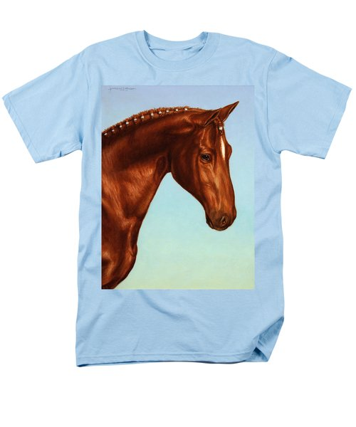 Braided T-Shirt by James W Johnson