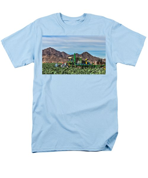 Broccoli Harvest Men's T-Shirt  (Regular Fit) by Robert Bales