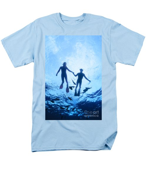 Couple At The Surface T-Shirt by Ed Robinson - Printscapes