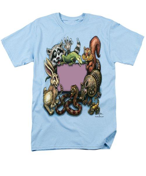 Critters Men's T-Shirt  (Regular Fit) by Kevin Middleton