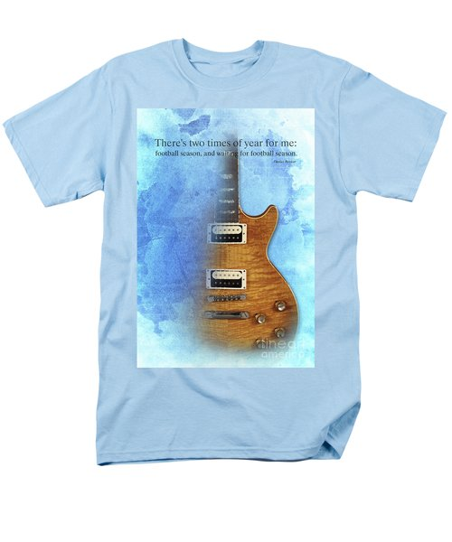 Darius Rucker Inspirational Quote, Electric Guitar Poster For Music Lovers And Musicians Men's T-Shirt  (Regular Fit) by Pablo Franchi
