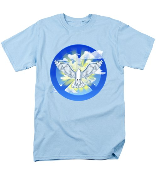Dove Of Peace Men's T-Shirt  (Regular Fit) by Chris MacDonald