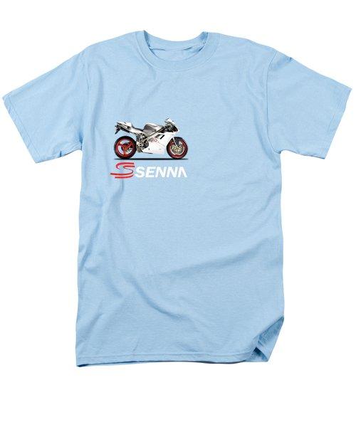 Ducati 916 Senna Men's T-Shirt  (Regular Fit) by Mark Rogan