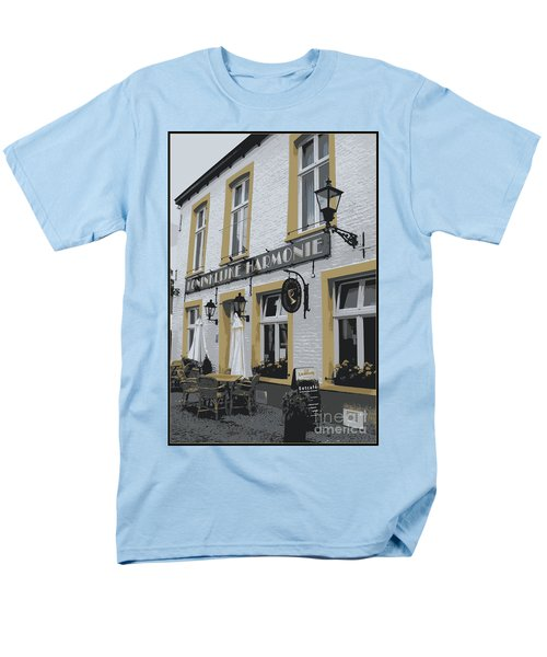 Dutch Cafe - Digital T-Shirt by Carol Groenen