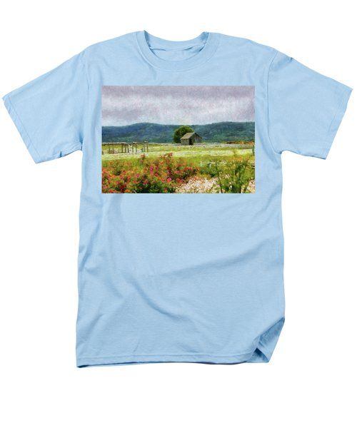 Farm - Barn - Out in the country  T-Shirt by Mike Savad