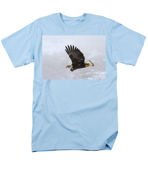 Foggy Flight T-Shirt by Mike  Dawson