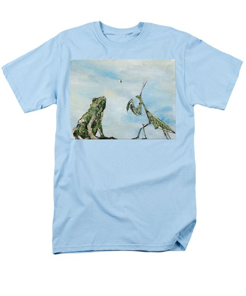 FROG FLY and MANTIS T-Shirt by Fabrizio Cassetta