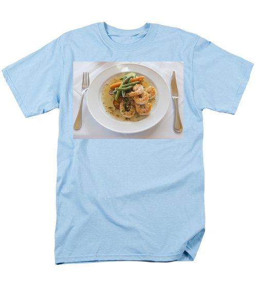 Garlic Prawns T-Shirt by Louise Heusinkveld
