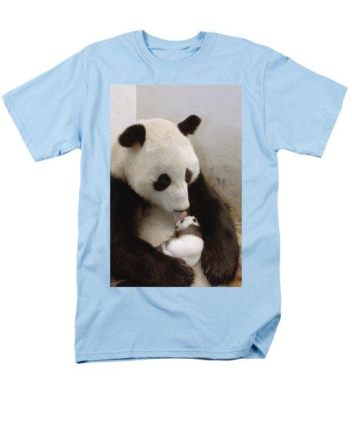 Giant Panda Ailuropoda Melanoleuca Xi T-Shirt by Katherine Feng