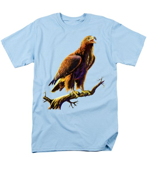 Golden Eagle Men's T-Shirt  (Regular Fit) by Anthony Mwangi