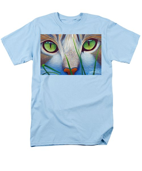 Green Eyes T-Shirt by Brian  Commerford