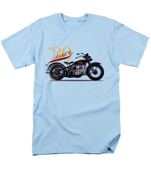 Harley-davidson Model V 1930 Men's T-Shirt  (Regular Fit) by Mark Rogan