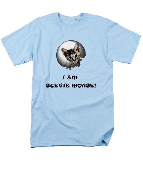 I Am Stevie Mouse Men's T-Shirt  (Regular Fit) by Dorothy Berry-Lound