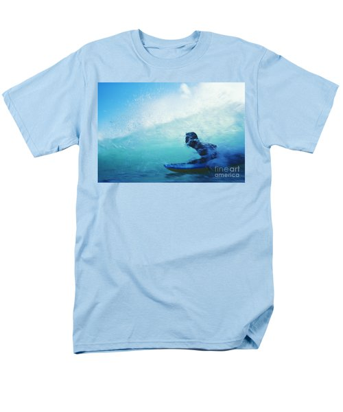 Inside The Wave T-Shirt by Bob Abraham - Printscapes