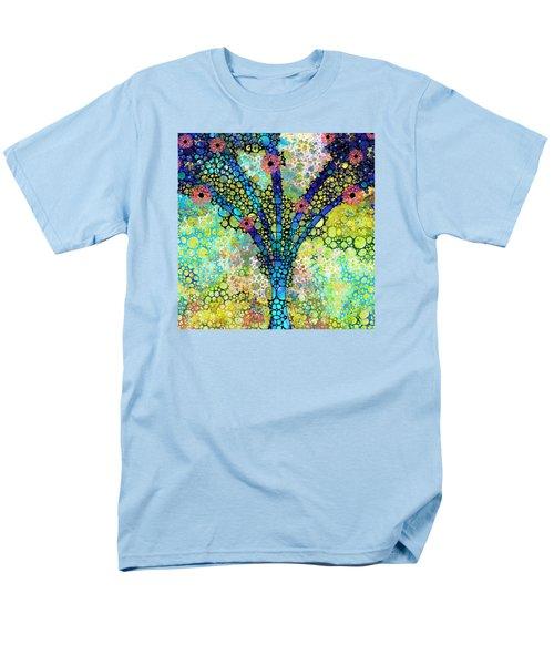 Inspirational Art - Absolute Joy - Sharon Cummings Men's T-Shirt  (Regular Fit) by Sharon Cummings