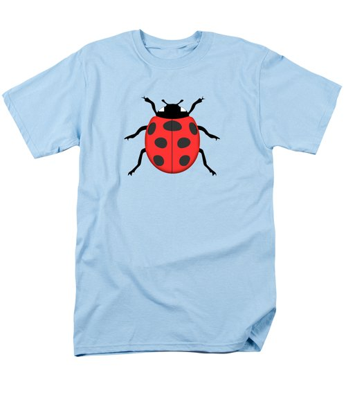 Ladybug Men's T-Shirt  (Regular Fit) by Gaspar Avila