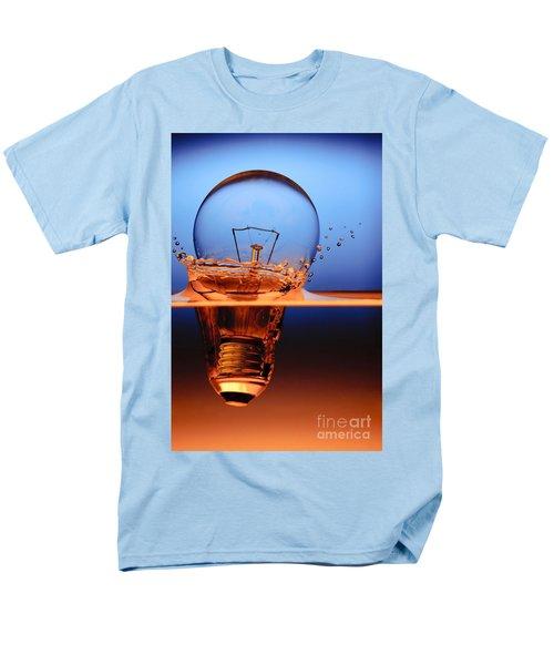 light bulb and splash water T-Shirt by Setsiri Silapasuwanchai